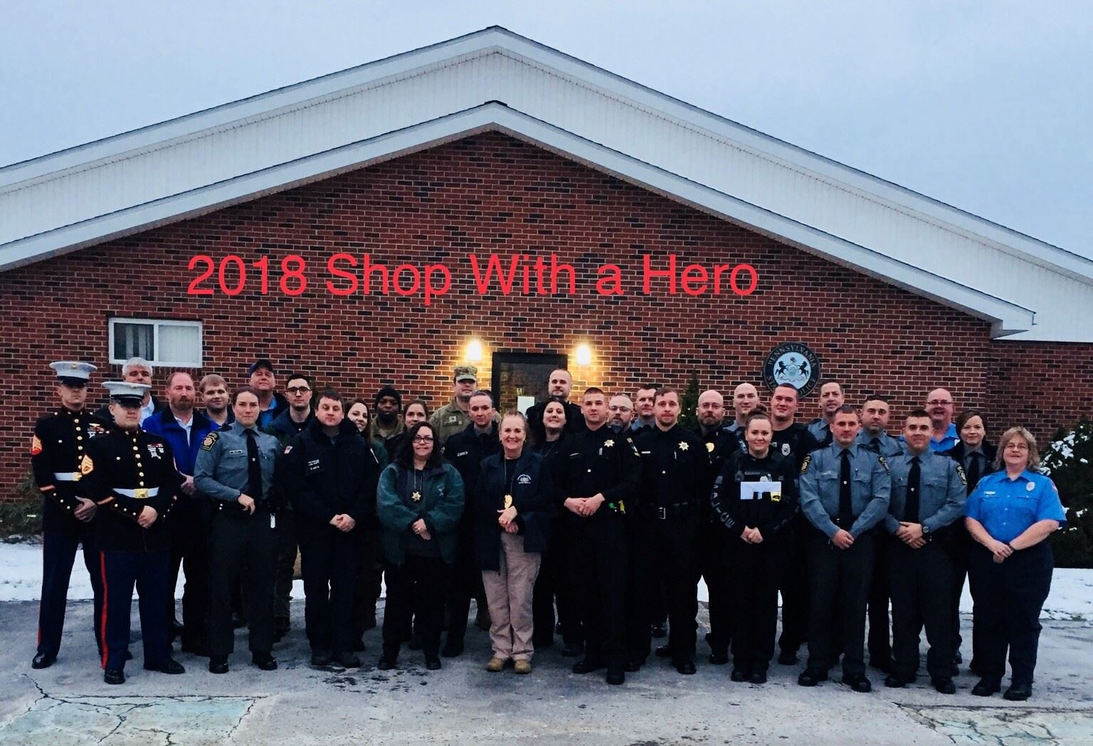 Shop with a Hero 2018