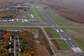 Runway at the Venango Regional Airport