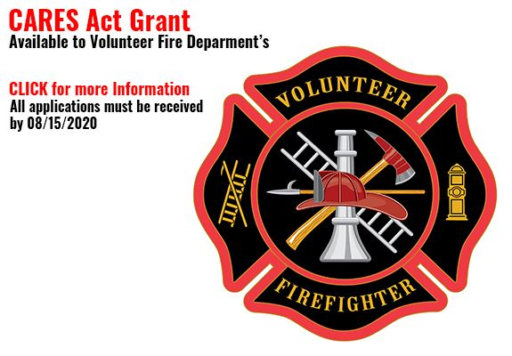 CARES Act Grant Volunteer Fire Department