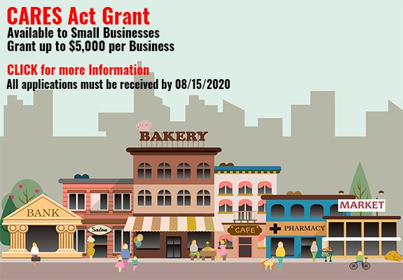 CARES Act Grant Volunteer Small Business